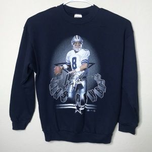 Other - 1999 Troy Aikman Dallas Cowboys Sweater